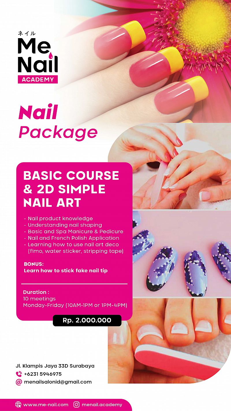 Basic Course and 2D Simple Nail Art